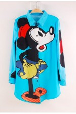 Рубашка удлиненная MinnieBlue