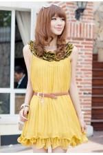 Платье YellowPleating