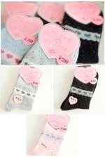 Носки зимние Hearts(разные цвета)
