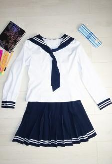 Японская школьная форма с длинным рукавом