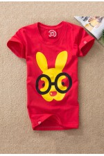 Красная футболка Bunny