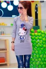 Джемпер Hello Kitty Grey